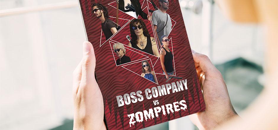 Un roman d'action, d'humour et de zombies